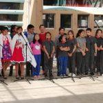 Con Esquinazo, Coro de la Escuela Darío Salas Despide Fiestas Patrias.